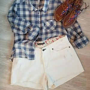 Polo Ralph Lauren Distressed Cutoff Shorts NWOT